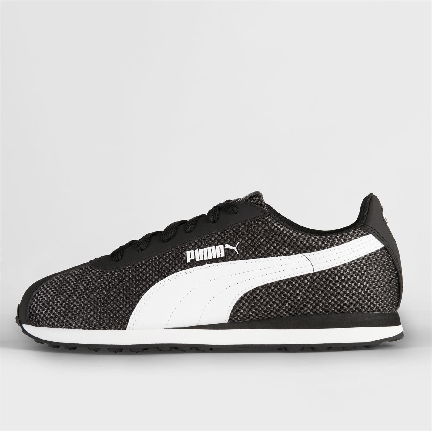 Puma-Mens-Gents-Turin-Mesh-Trainers-Shoes-Laces-Fastened-Footwear thumbnail 10