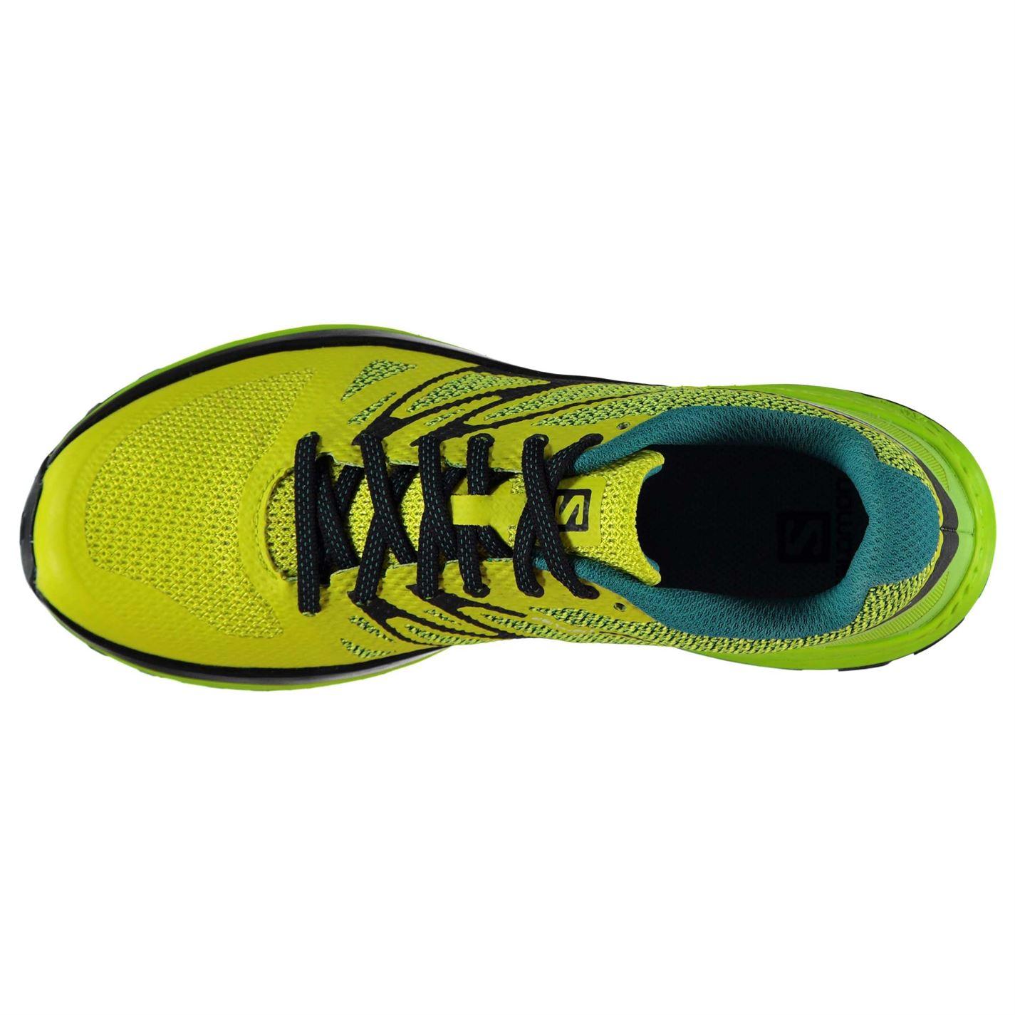 2b848013d390 Salomon Sense Escape Trail Running Shoes Mens Gents Laces Fastened ...