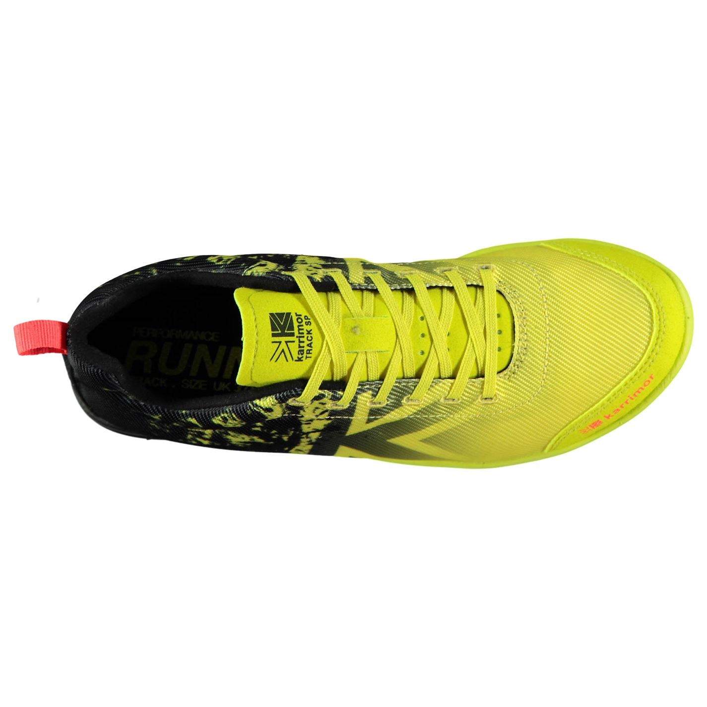 1f5054b091d0 Karrimor Kids Junior Running Spikes 4 Track Shoes Lace Up Padded ...