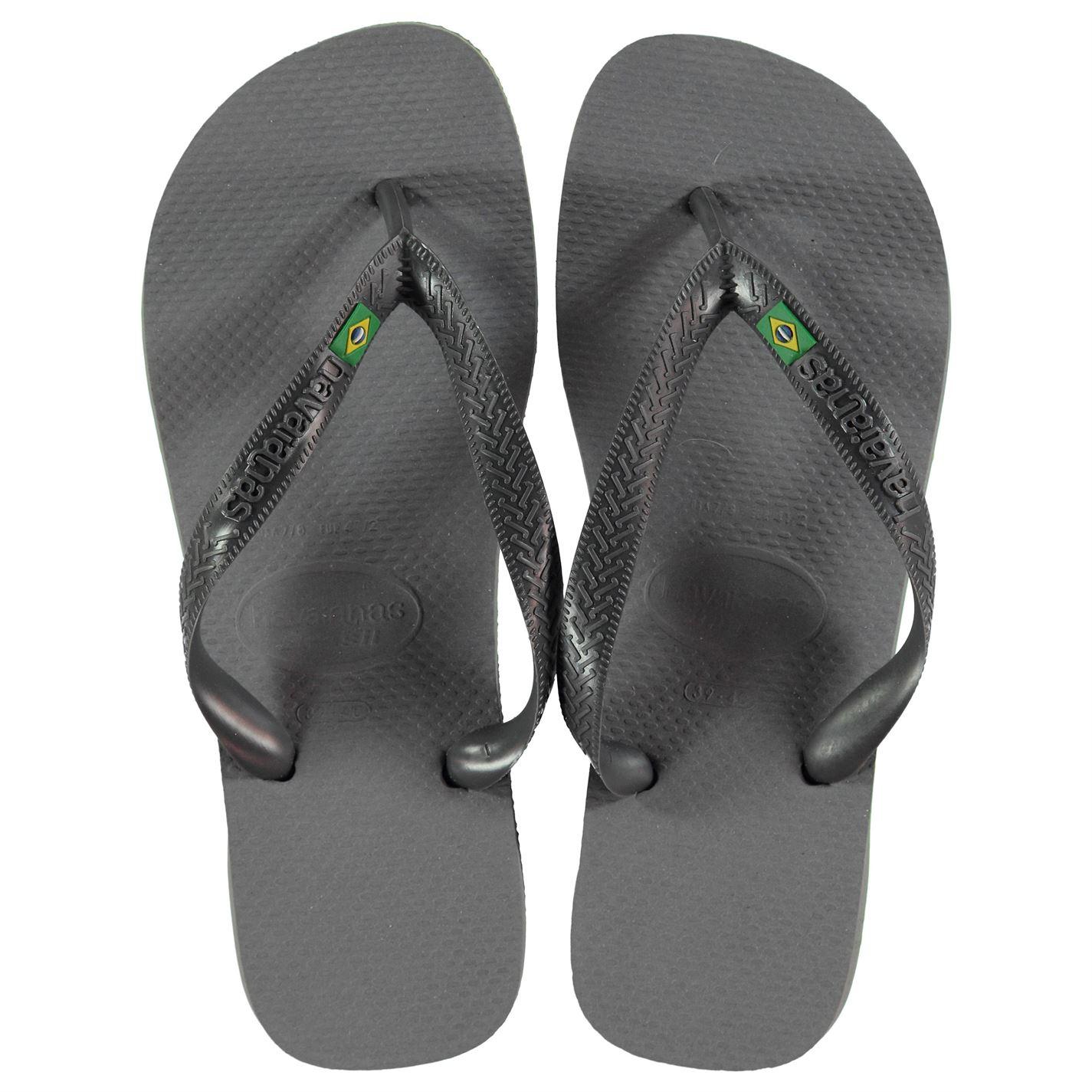 8680021cd Havaianas Mens Brasil Flip Flops Strap Toe Post Summer