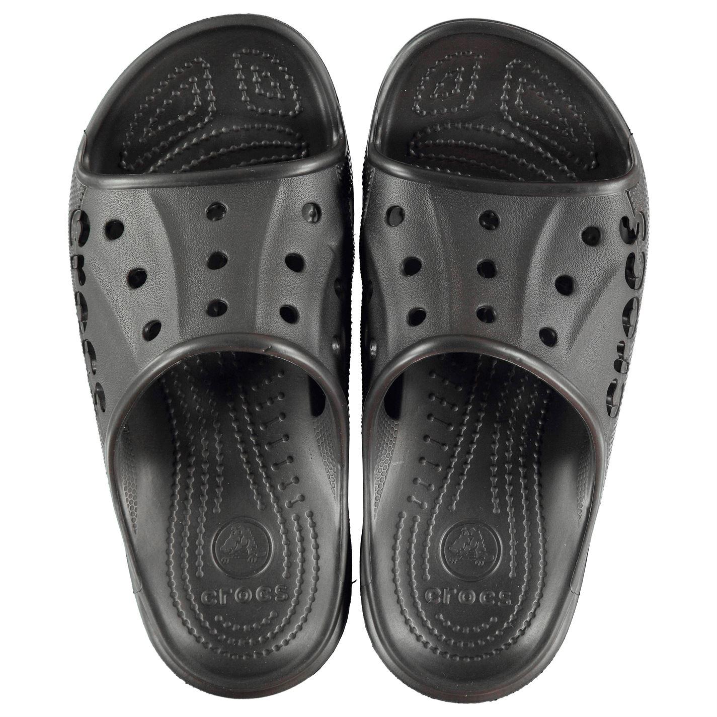 898402637c9 Crocs Mens Baya Slide Pool Shoes Slip On Strap Ventilation Holes ...