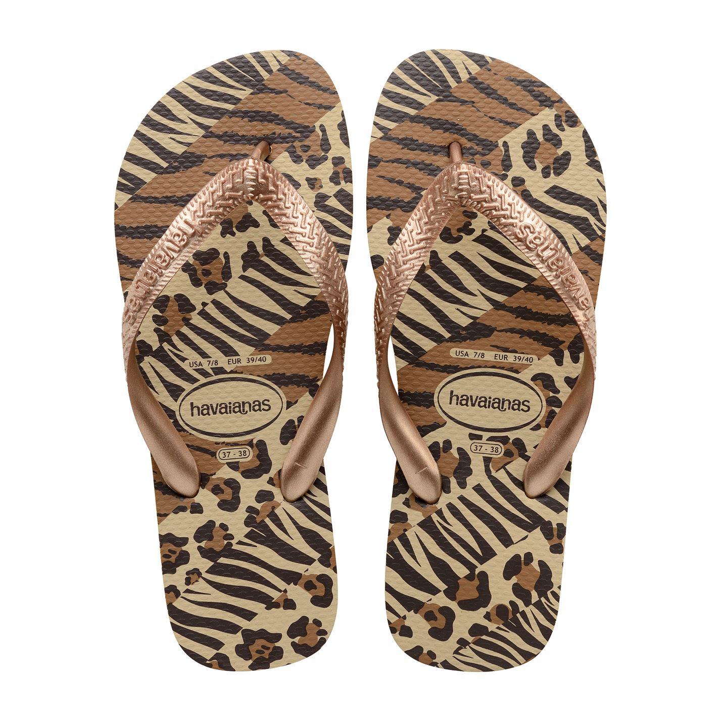 Havaianas Womens Top Animal Flip Flops  Ebay-7268