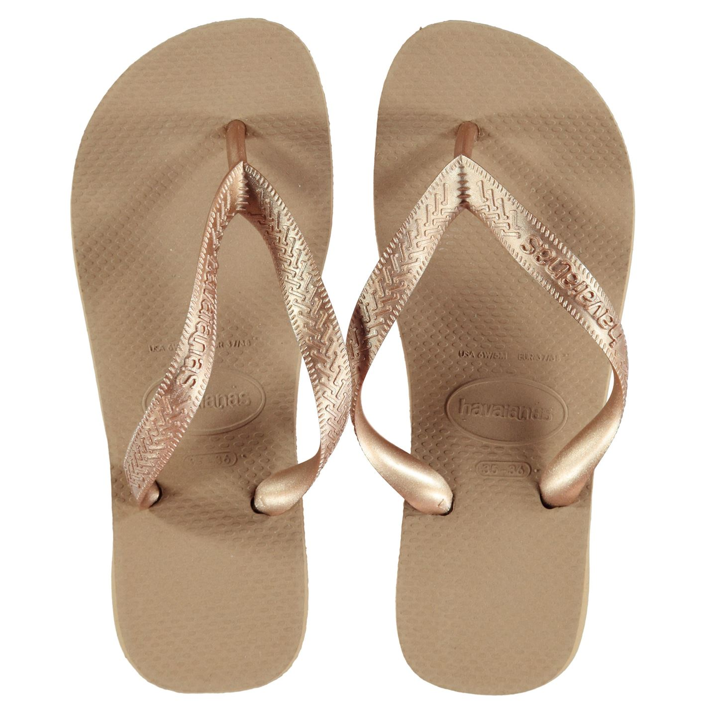 68f0d79a474 Havaianas Top Tiras Flip Flops Ladies Strap Toe Post Summer