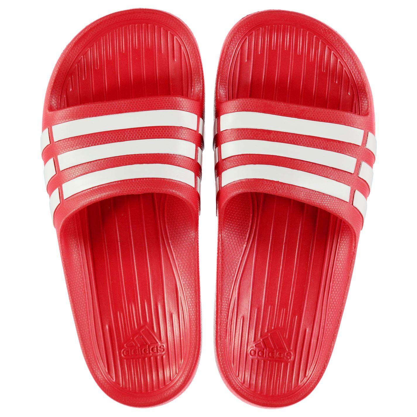 super popular 878d8 f54ea adidas-Kids-Boys-Duramo-Slide-Pool-Shoes-Slip-