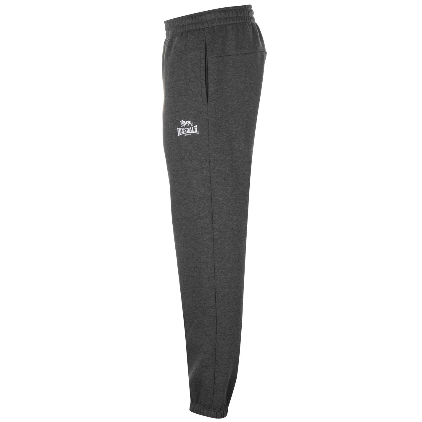 Lonsdale Mens Boxing Sweatpants Jogging Bottoms Trousers 3 Pockets Clothing Wear