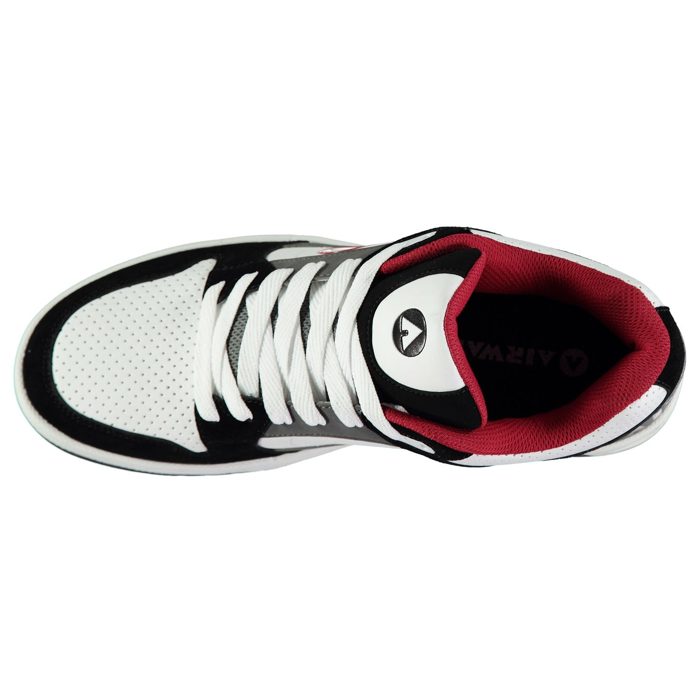 Airwalk-Throttle-Skate-Shoes-Mens-Gents-Laces-Fastened