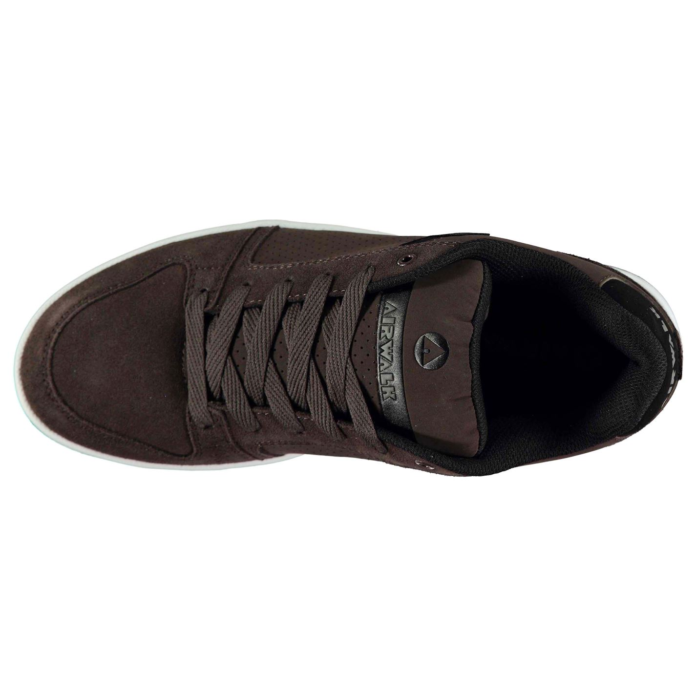 Airwalk-Mens-Brock-Skate-Shoes-Lace-Up-Suede-Accents-Sport-Casual-Trainers thumbnail 17
