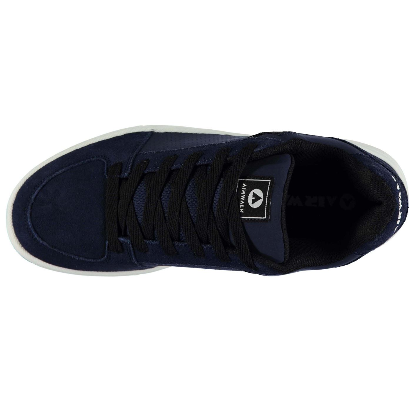 Airwalk-Mens-Brock-Skate-Shoes-Lace-Up-Suede-Accents-Sport-Casual-Trainers thumbnail 29