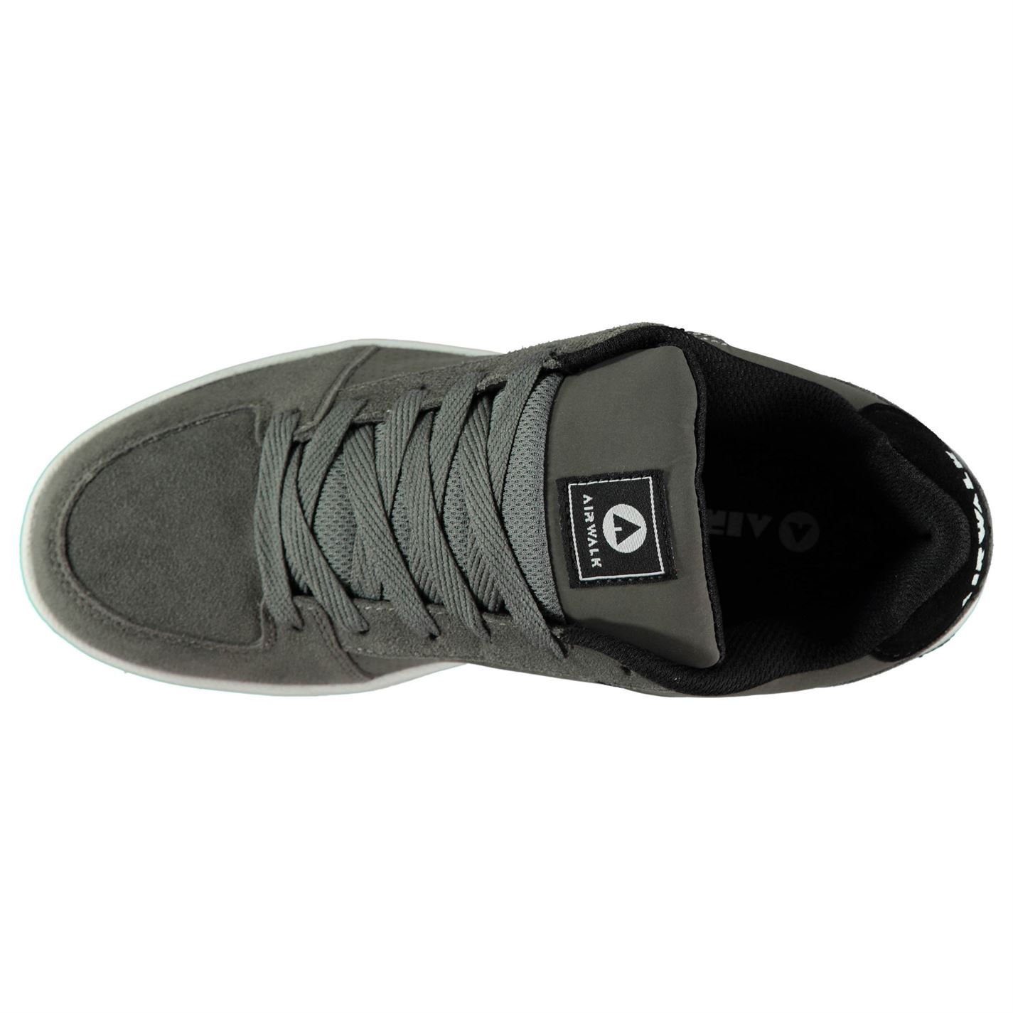 Airwalk-Mens-Brock-Skate-Shoes-Lace-Up-Suede-Accents-Sport-Casual-Trainers thumbnail 23