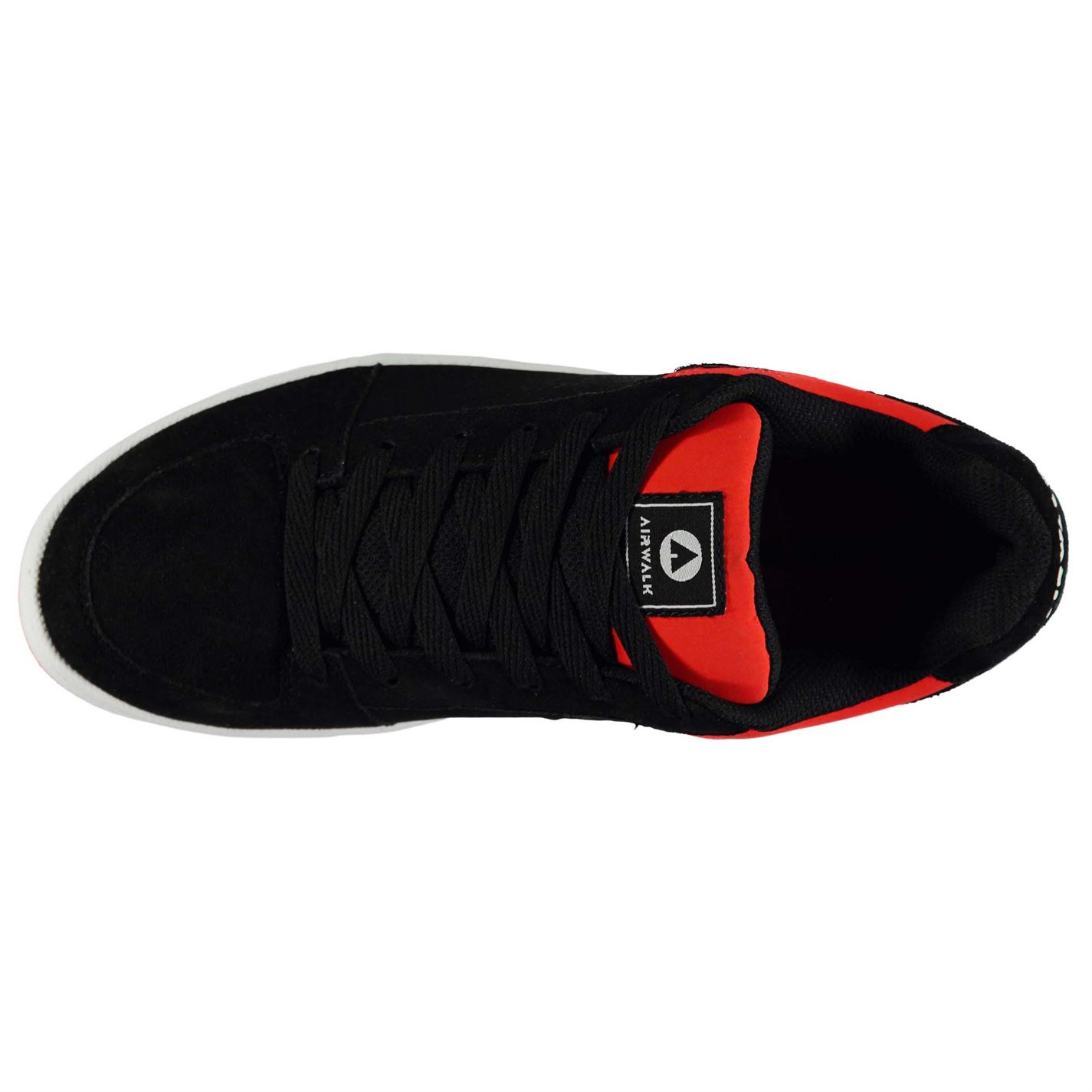 Airwalk-Mens-Brock-Skate-Shoes-Lace-Up-Suede-Accents-Sport-Casual-Trainers thumbnail 35