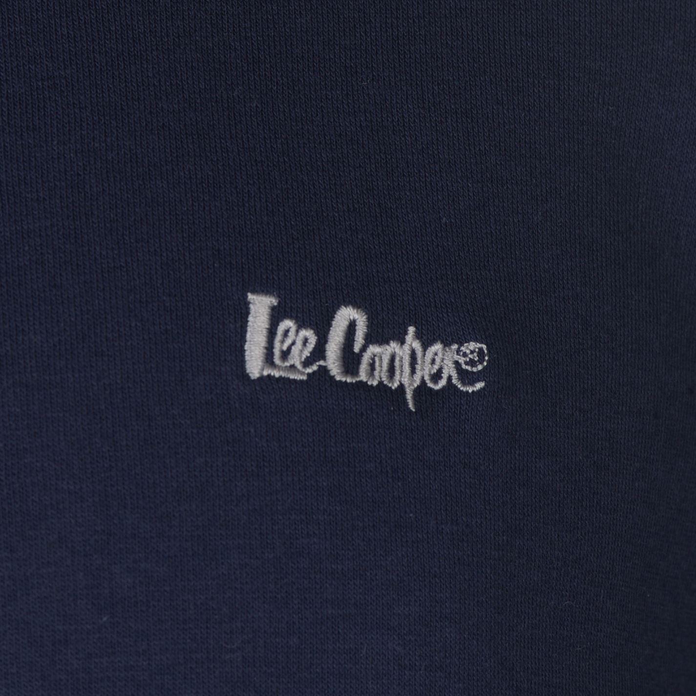Details about Lee Cooper Cut and Sew Zipped Hoody Mens Gents Zip Hoodie Hooded Top Full Length