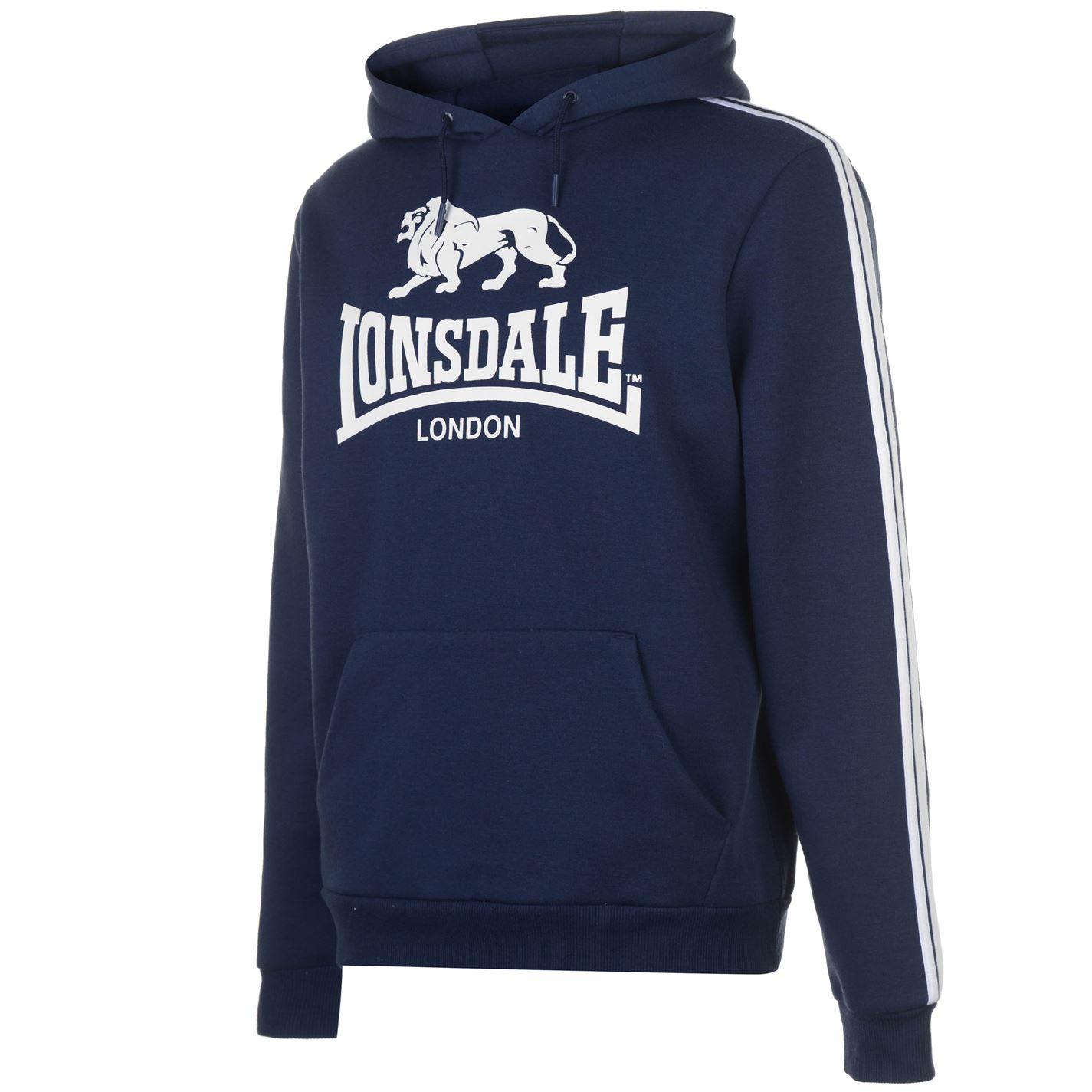 Mens Lonsdale 2S OTH Hoody Hoodie Long Sleeve New