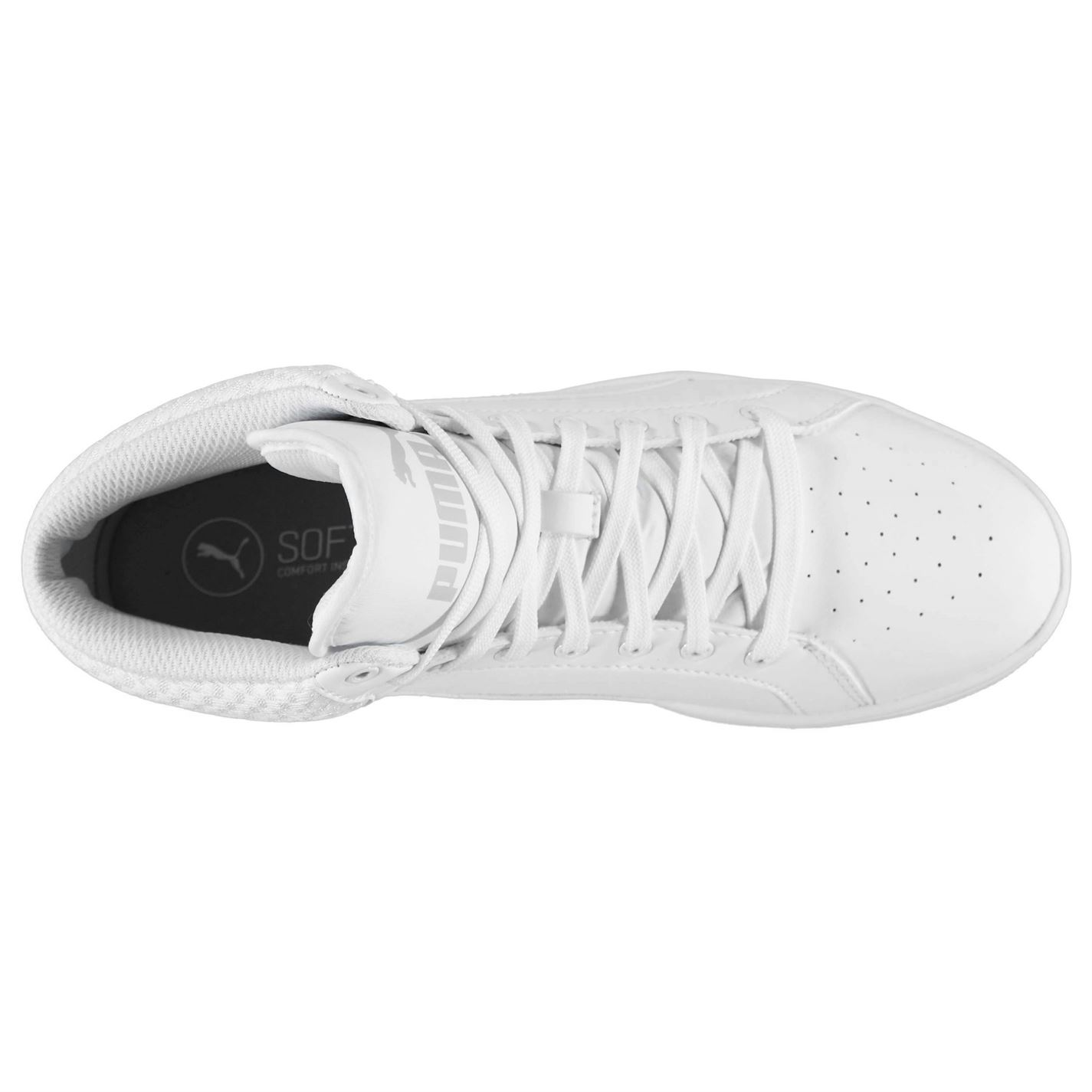 3d5899e9c35ad4 PUMA Shoes Trainers Ladies Hightop Trainers Lace up Ikaz Mid White 6. About  this product. Picture 1 of 4  Picture 2 of 4  Picture 3 of 4  Picture 4 of 4