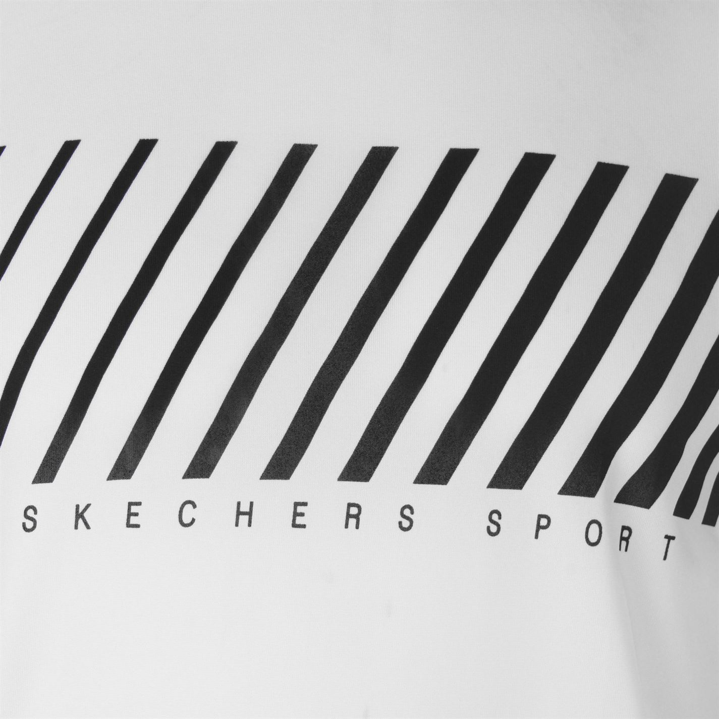 Skechers-Mens-Rendimiento-Grafico-camiseta-Manga-Corta-Camiseta-Top-Cuello-Redondo miniatura 7