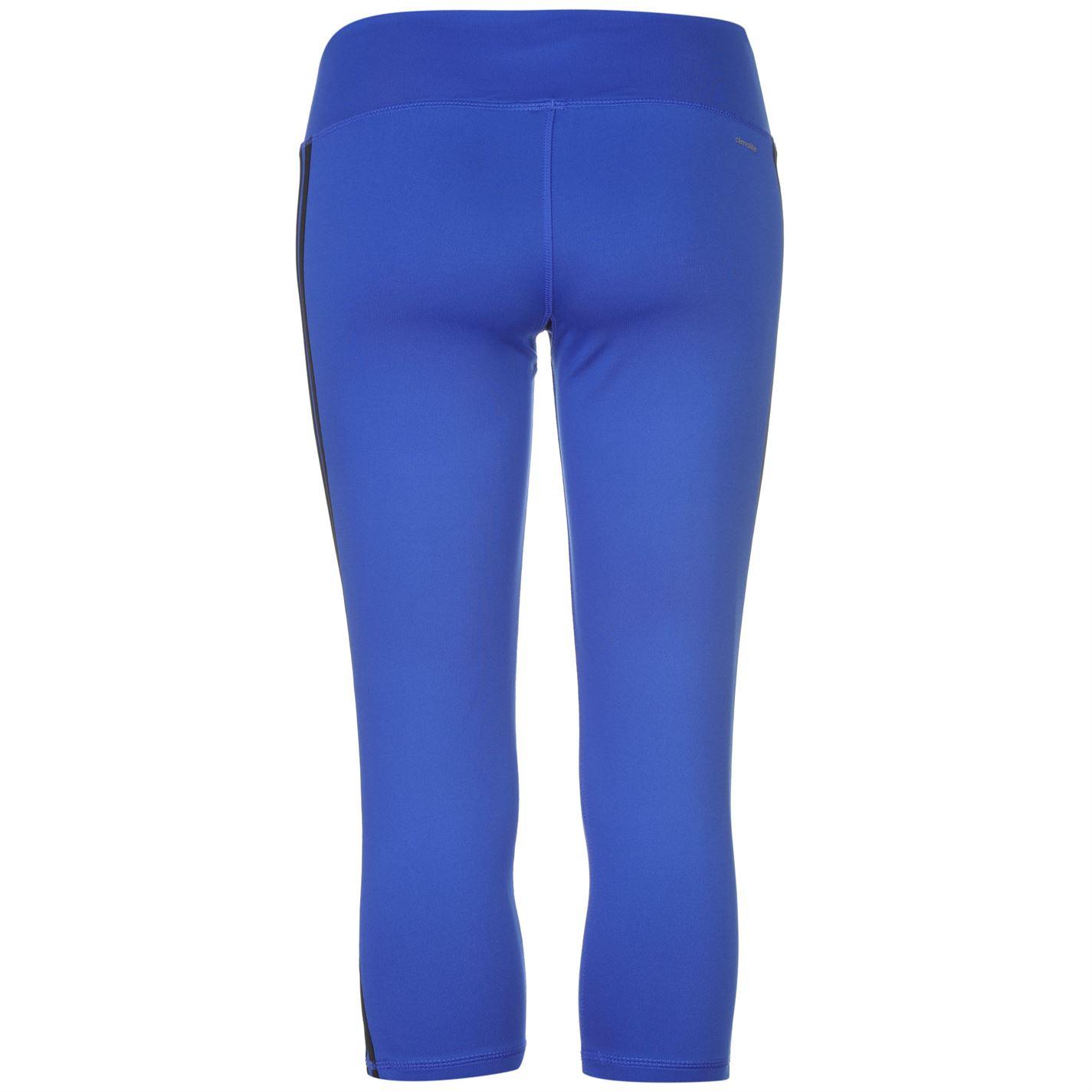 cf1cf2b2b3d88 adidas Womens 3S 3/4 Tight Ladies Elastic Sports Pants Training ...
