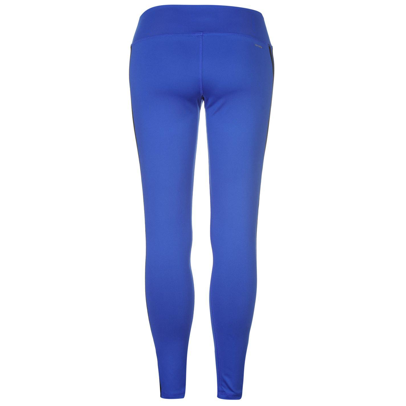 adidas Womens 3S Long Tight Ladies Elastic Sports Pants Training ... 0f9a20af43