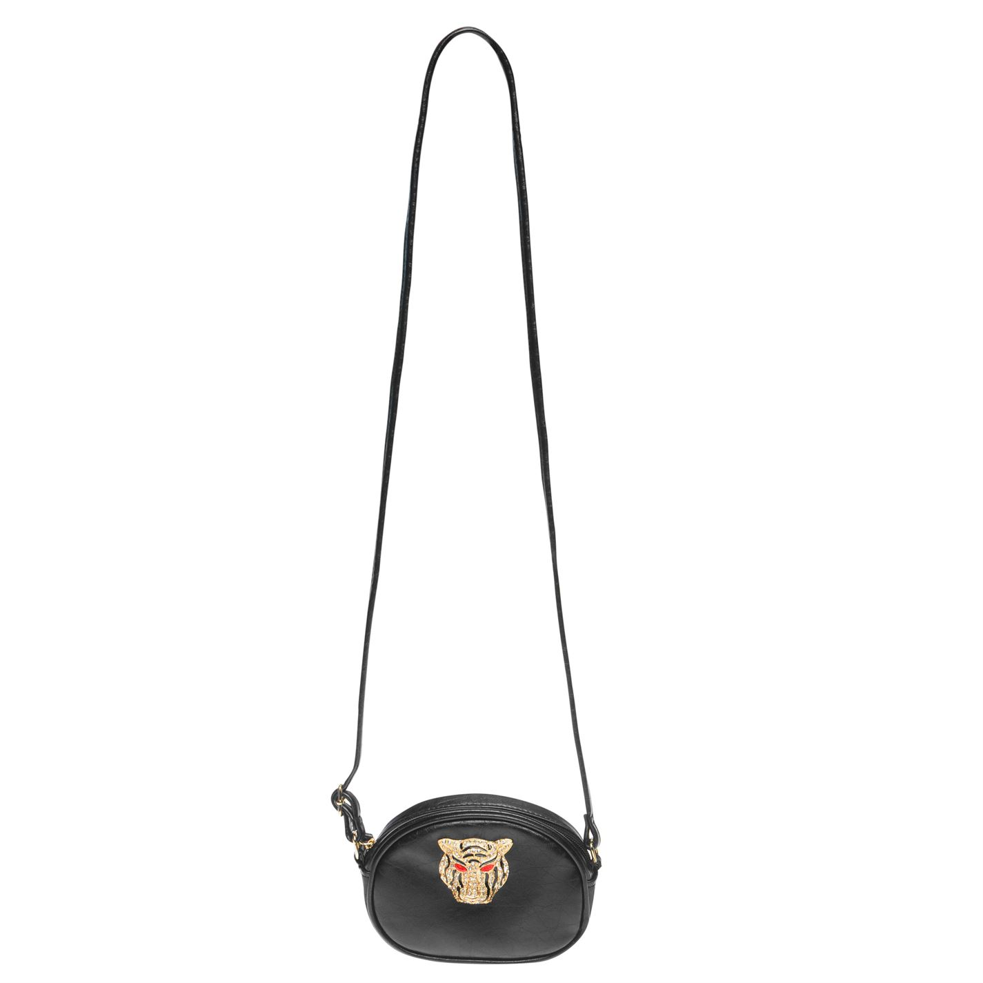 Womens-Glamorous-Lion-Shoulder-Bag-Zip-New thumbnail 5