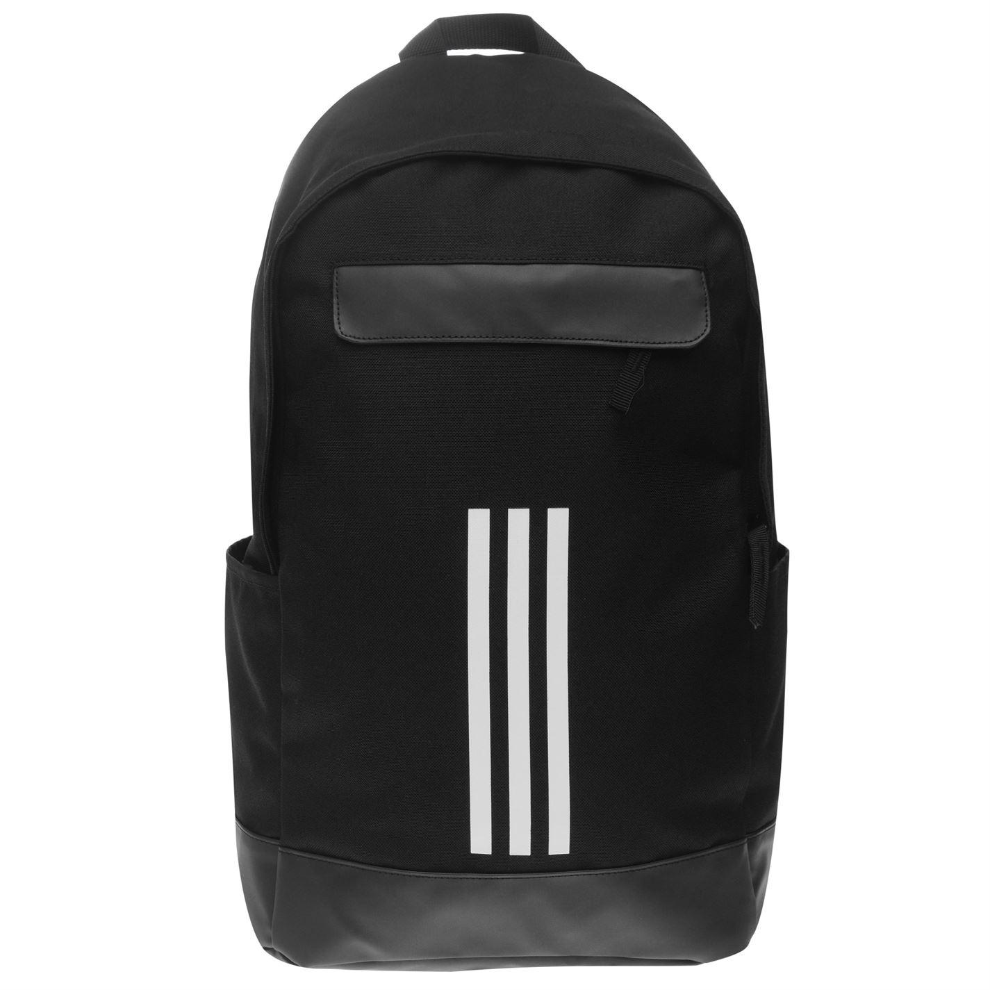 huge discount e24a5 0bdee adidas-Classic-3-Stripe-Backpack-Unisex-Back-Pack-