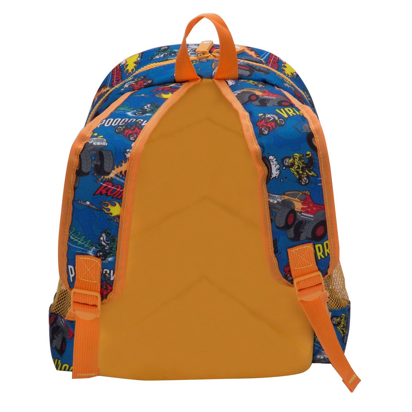 3b57346776e3 Star Graphic Backpack Unisex Back Pack Zip Mesh Stamp