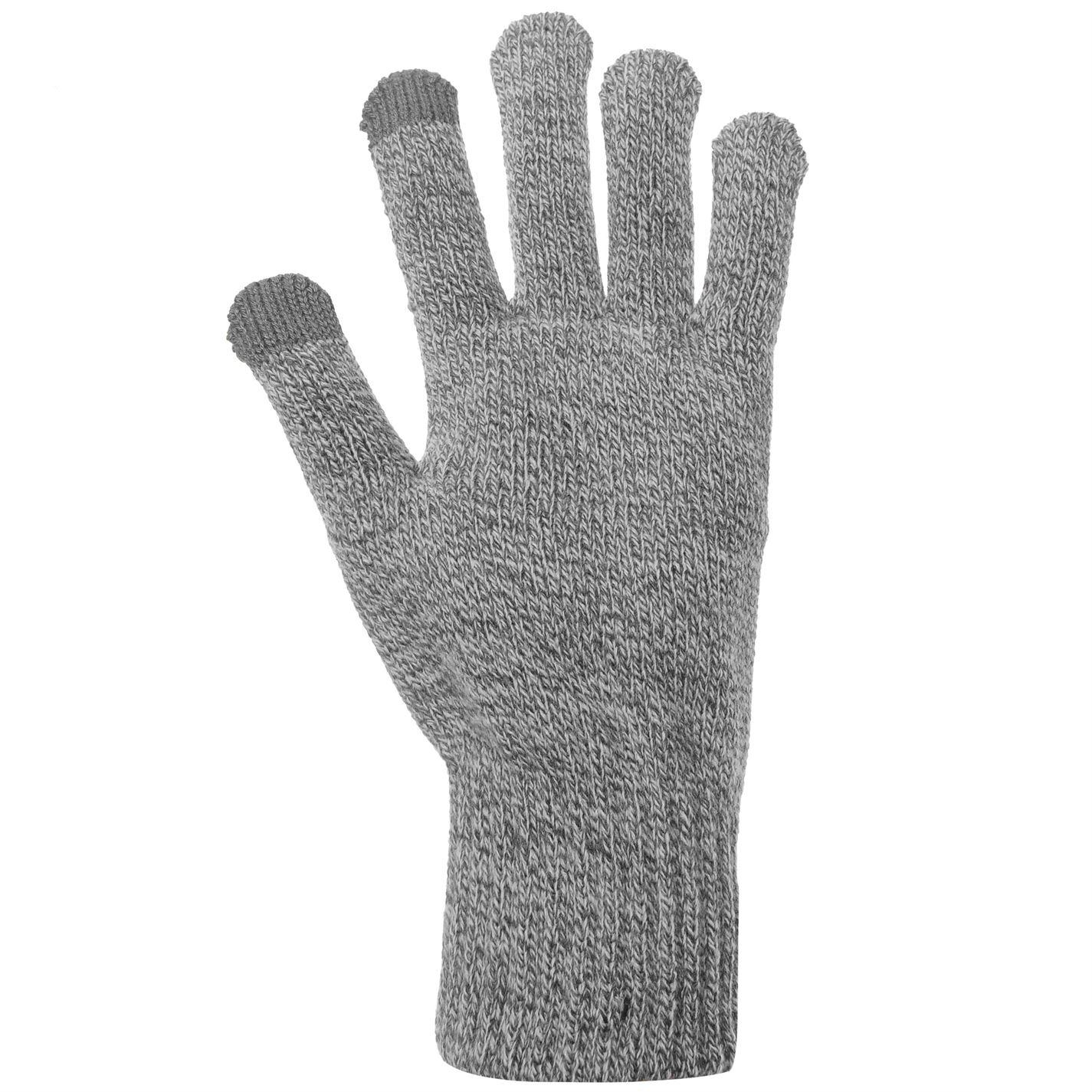 Mens-Jack-and-Jones-Melange-Gloves-Knitted-New thumbnail 5
