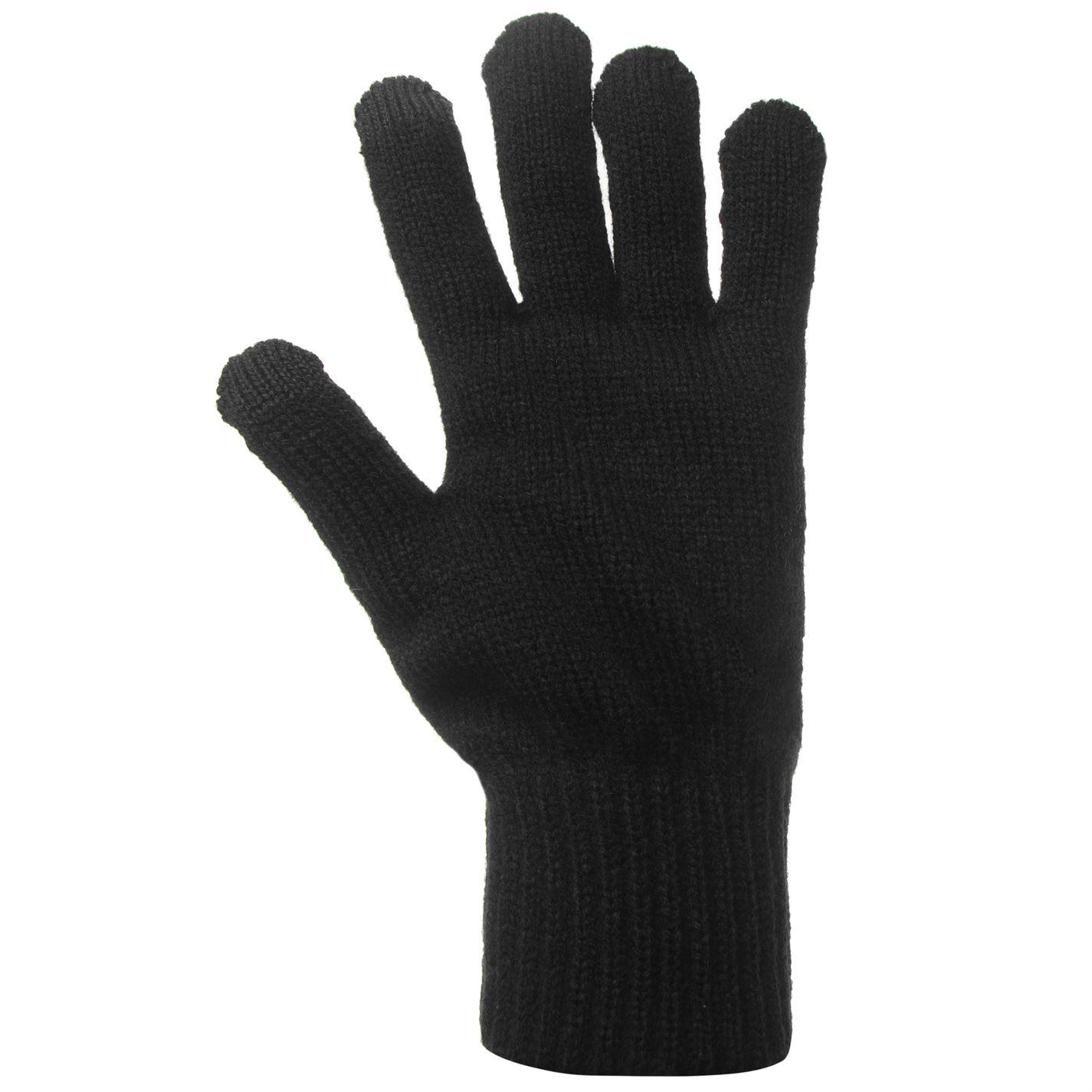 Mens-Jack-and-Jones-Melange-Gloves-Knitted-New thumbnail 8