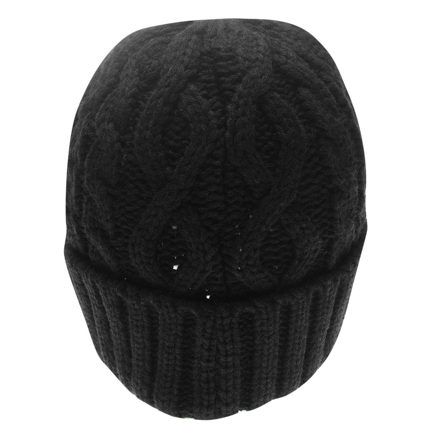 Mens-Firetrap-Cable-Beanie-Pattern-New thumbnail 7