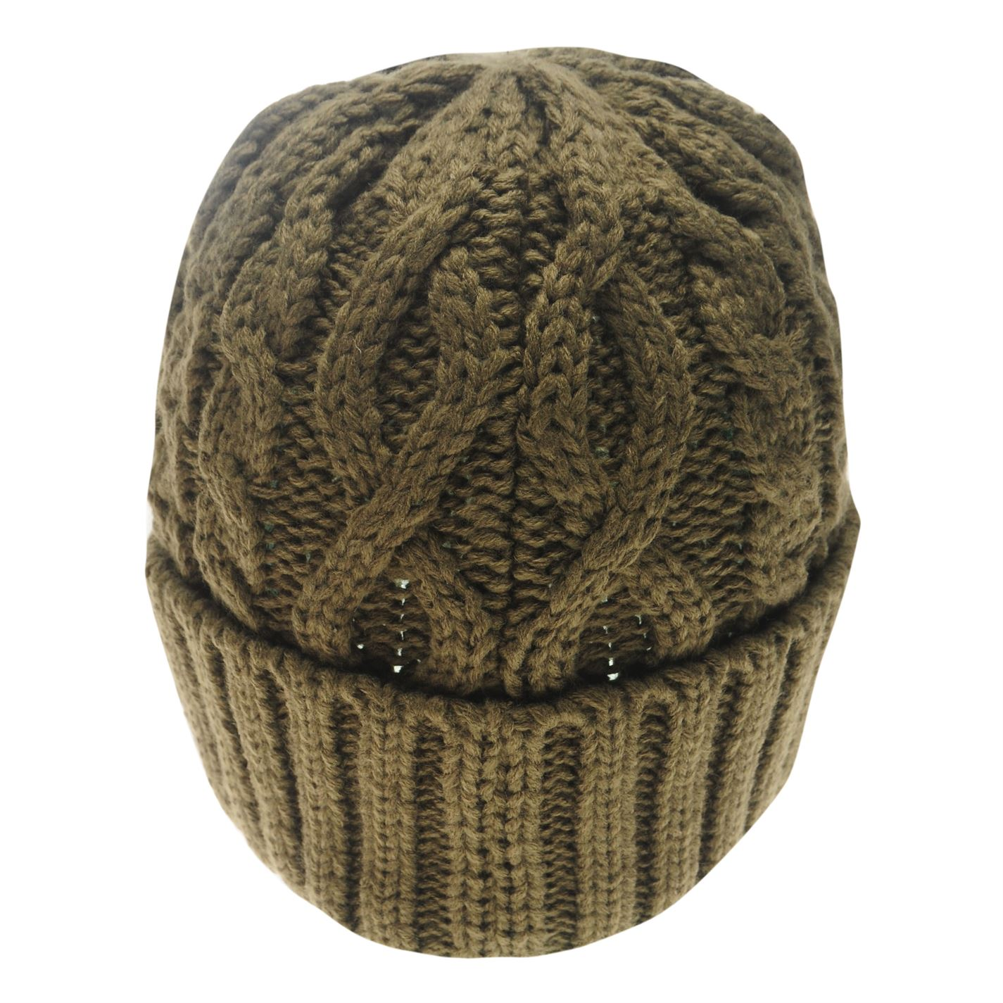 Mens-Firetrap-Cable-Beanie-Pattern-New thumbnail 10