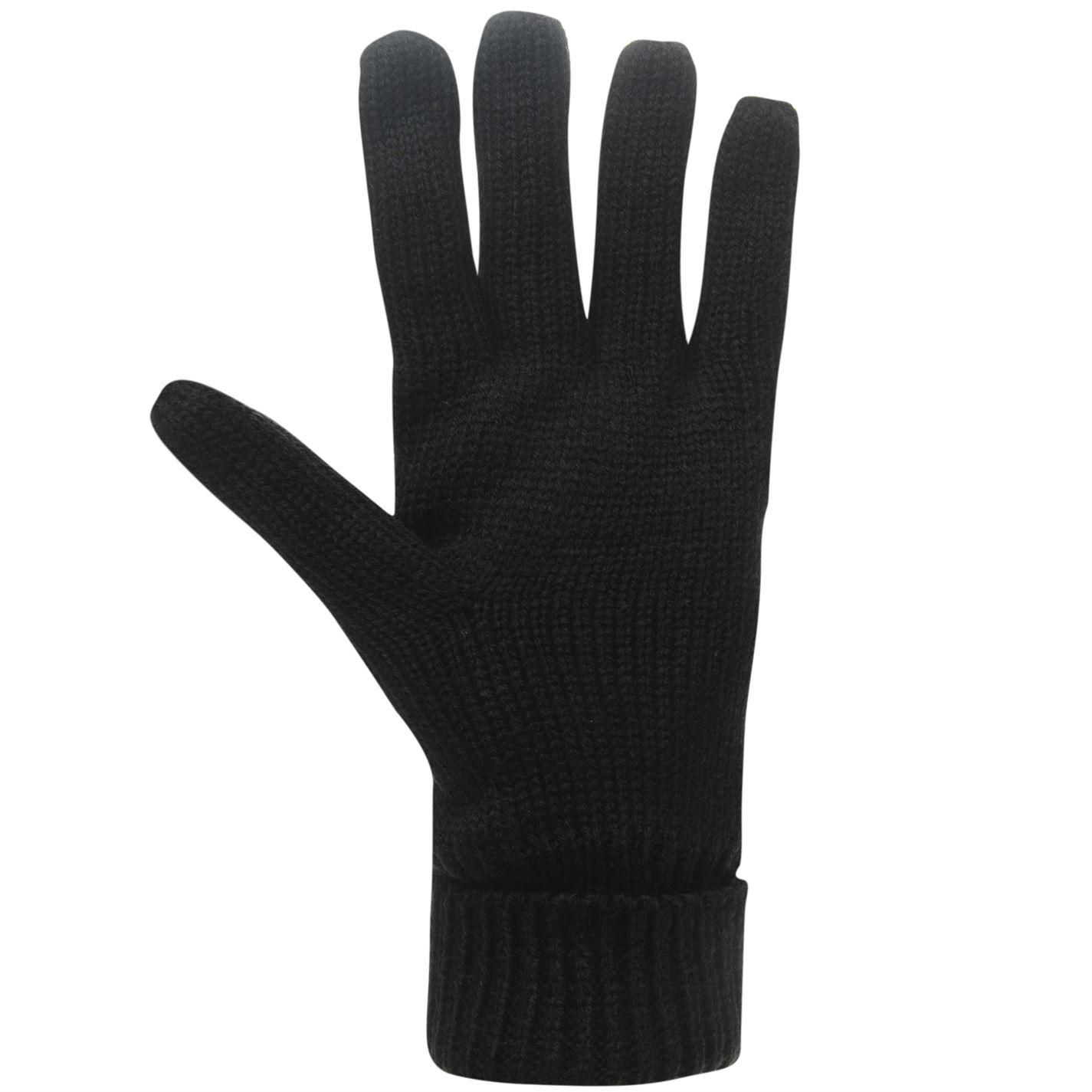 Mens-Firetrap-Cable-Knit-Gloves-Knitted-Winter-New thumbnail 8