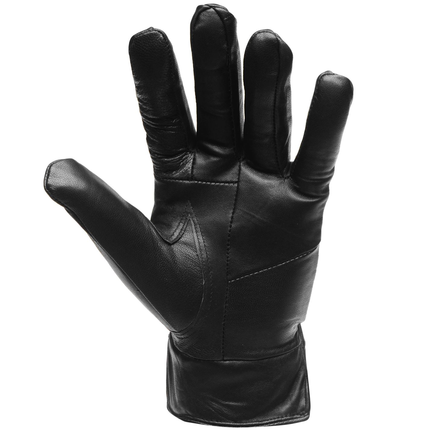 Mens Firetrap Leather Gloves Winter New