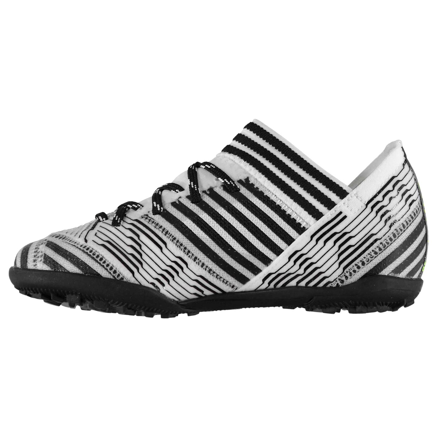 Adidas Kids Nemeziz 17.3 TF Football Football Football Stiefel Boys schuhe Lace Up Textile Sports 8288a3
