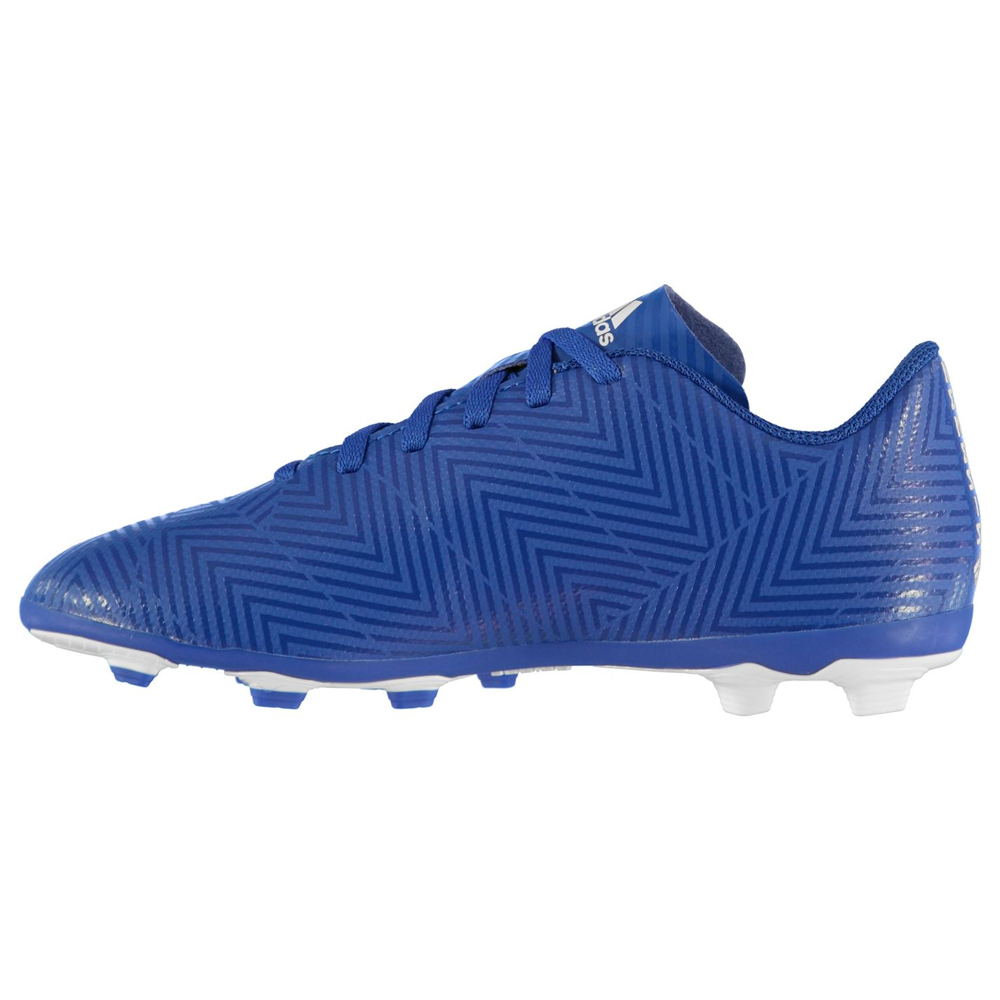 00448fcef Adidas Kids Boys Nemeziz 18.4 FG Child Football Boots Firm Ground ...