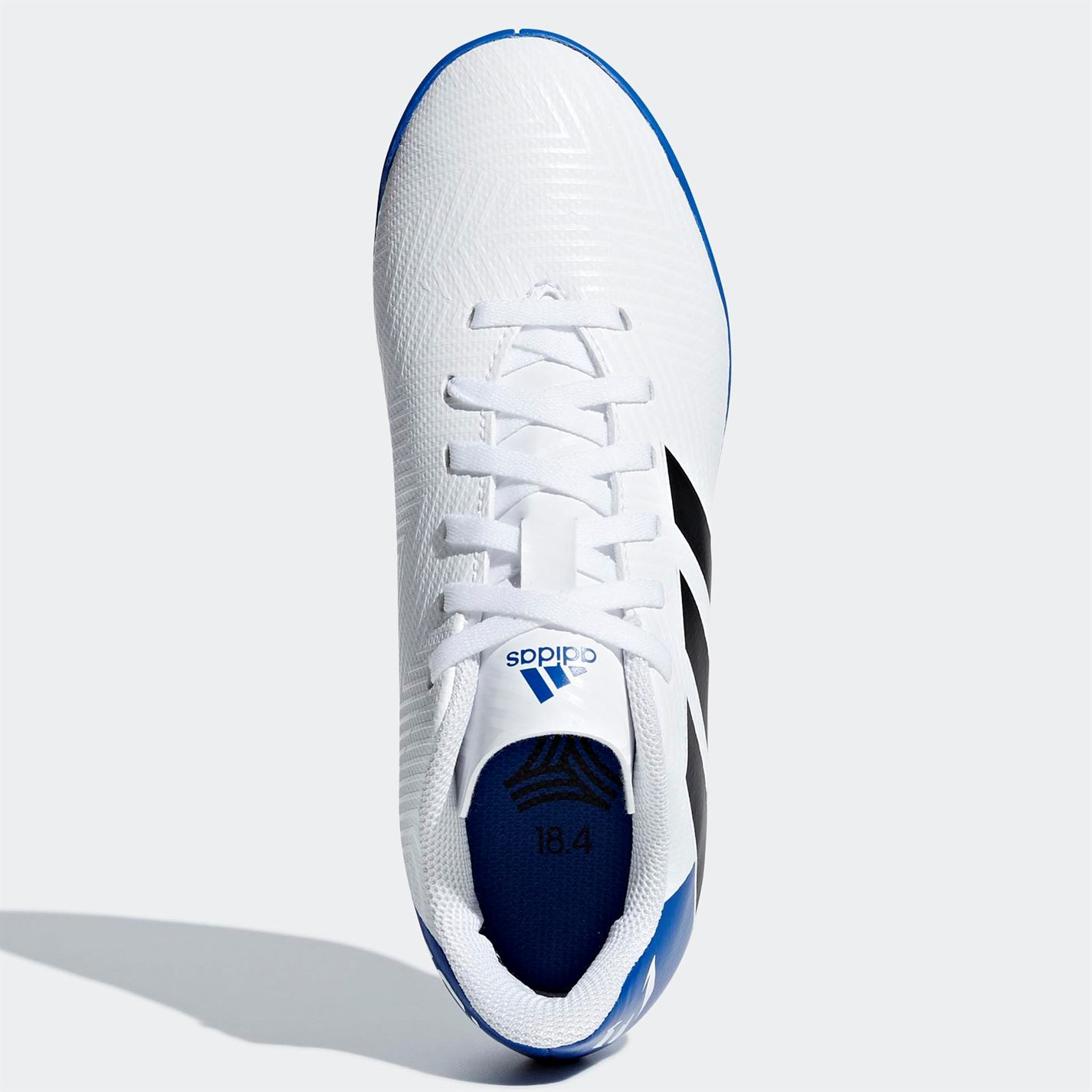 757634ef257 adidas Kids Nemeziz Messi Tango 18.4 Junior Indoor Football Trainers ...