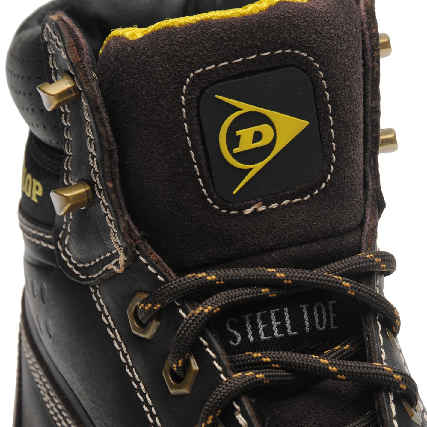 420b89dc98a Dunlop Mens Safety On Site Boots Lace Up Mesh Oil and Slip Resistant ...