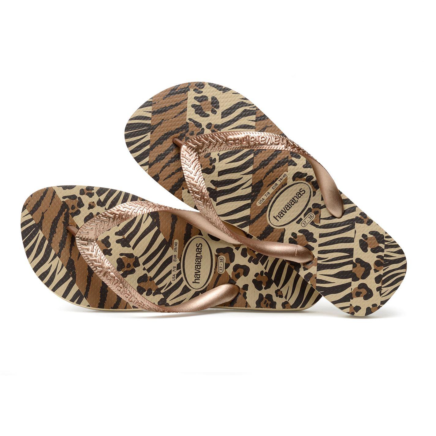 Havaianas Womens Top Animal Flip Flops  Ebay-8741