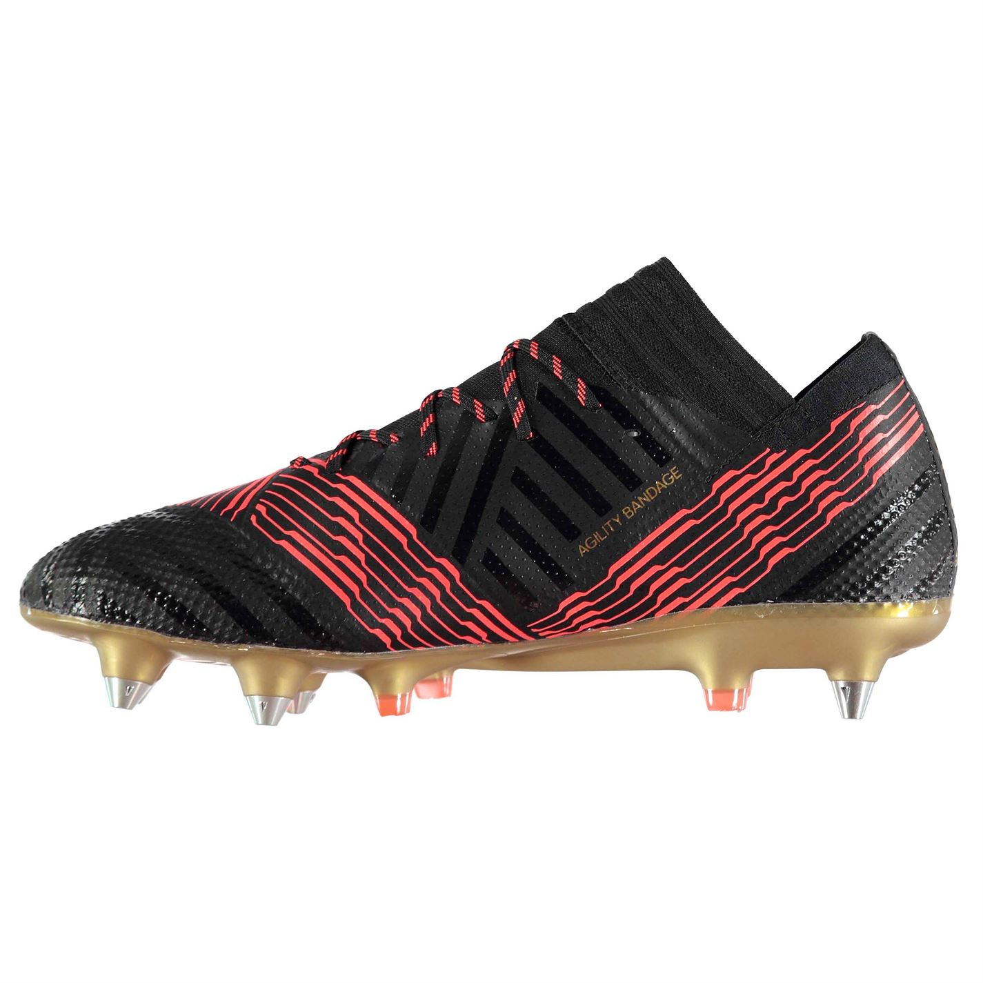 Adidas Mens Nemeziz 17.1 SG Football Stiefel Stiefel Stiefel Soft Ground Lace Up Lightweight Studs 6caf8f