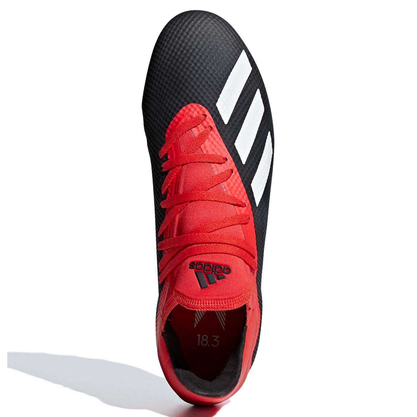 Adidas Mens X X X 18.3 AG Football Stiefel Firm Ground Lace Up Lightweight Mesh Upper ddd9b2