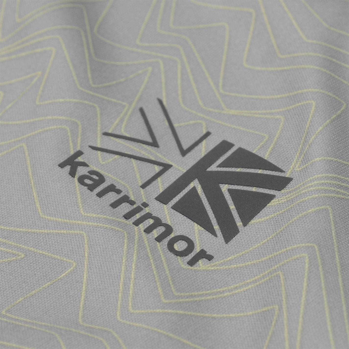 Karrimor-Hombres-X-Lite-Camiseta-mangas-cortas-de-carrera-Rendimiento-Camiseta-Top-Cuello-Redondo miniatura 9
