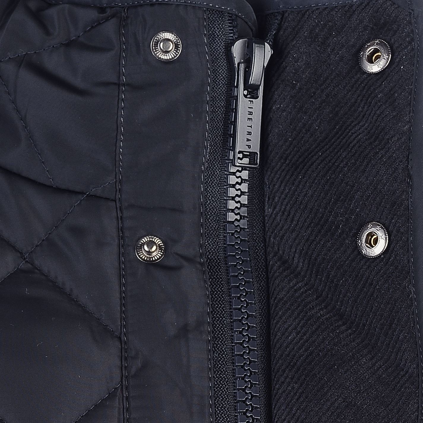 Mens-Firetrap-Kingdom-Jacket-Quilted-Long-Sleeve-New thumbnail 11