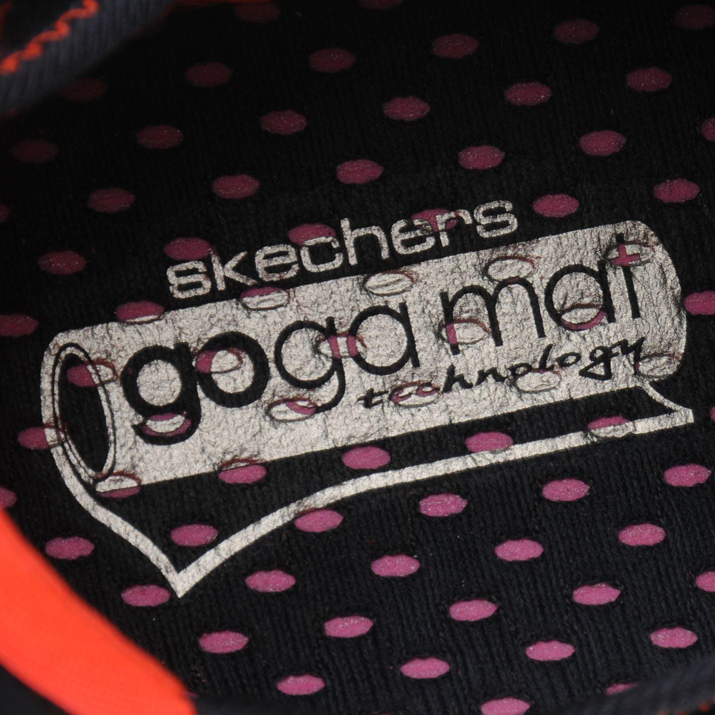 Skechers Womens Ladies Go Step Print Trainers Runners