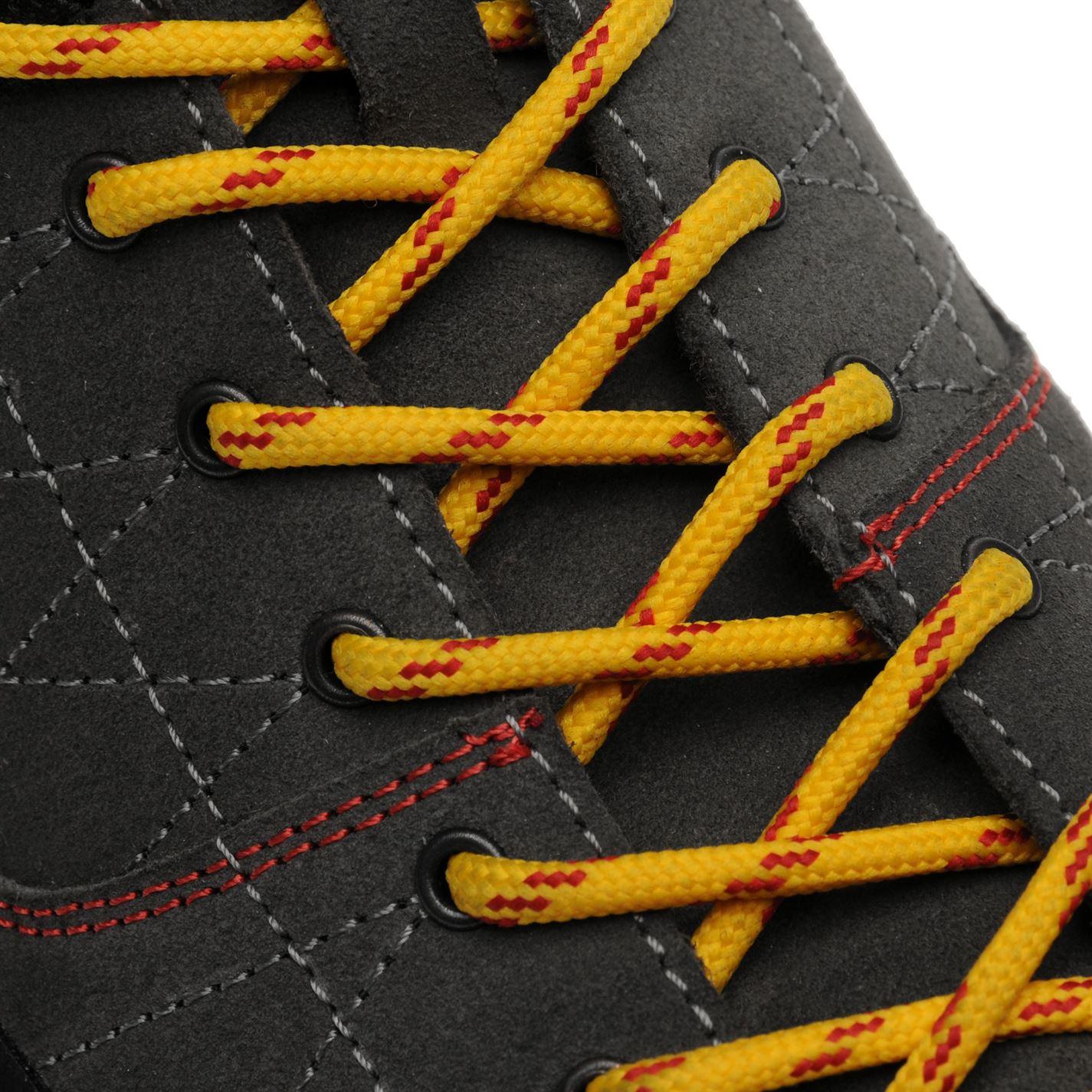 Mens Lacci idrorepellenti Crag Hot Charcoal da fissati Gents Scarpe passeggio giallo Karrimor non RX0gSz