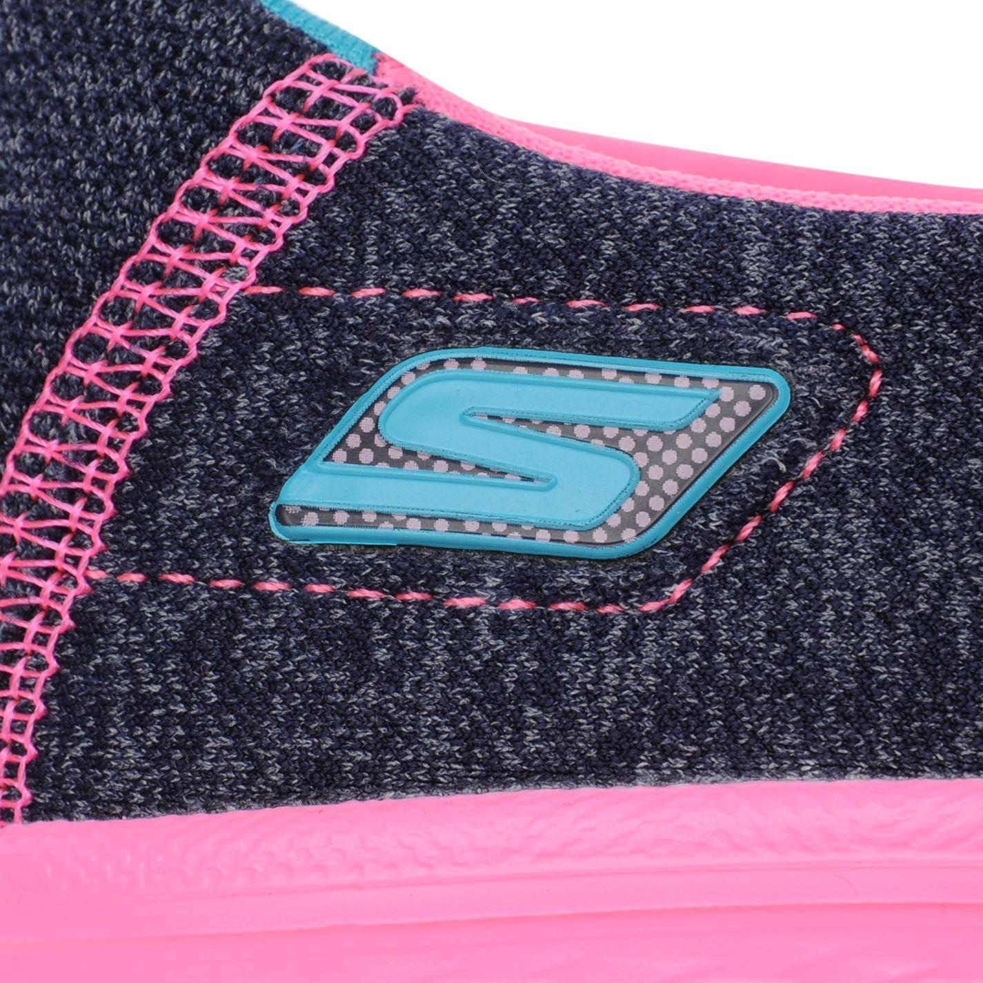 Estampado Walk para de liviano Azul Zapatos deporte sin 4 Skechers Go multi marino Zapatillas cordones chicas YwPdqx1g1n