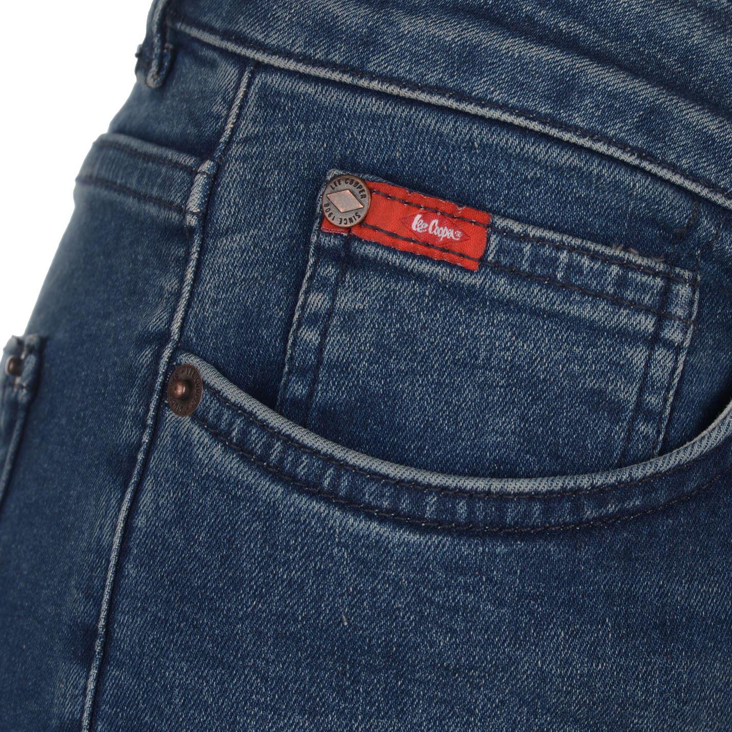 9c53b508 Lee Cooper Pearl Skinny Jeans Ladies Slim Pants Trousers Bottoms Zip ...