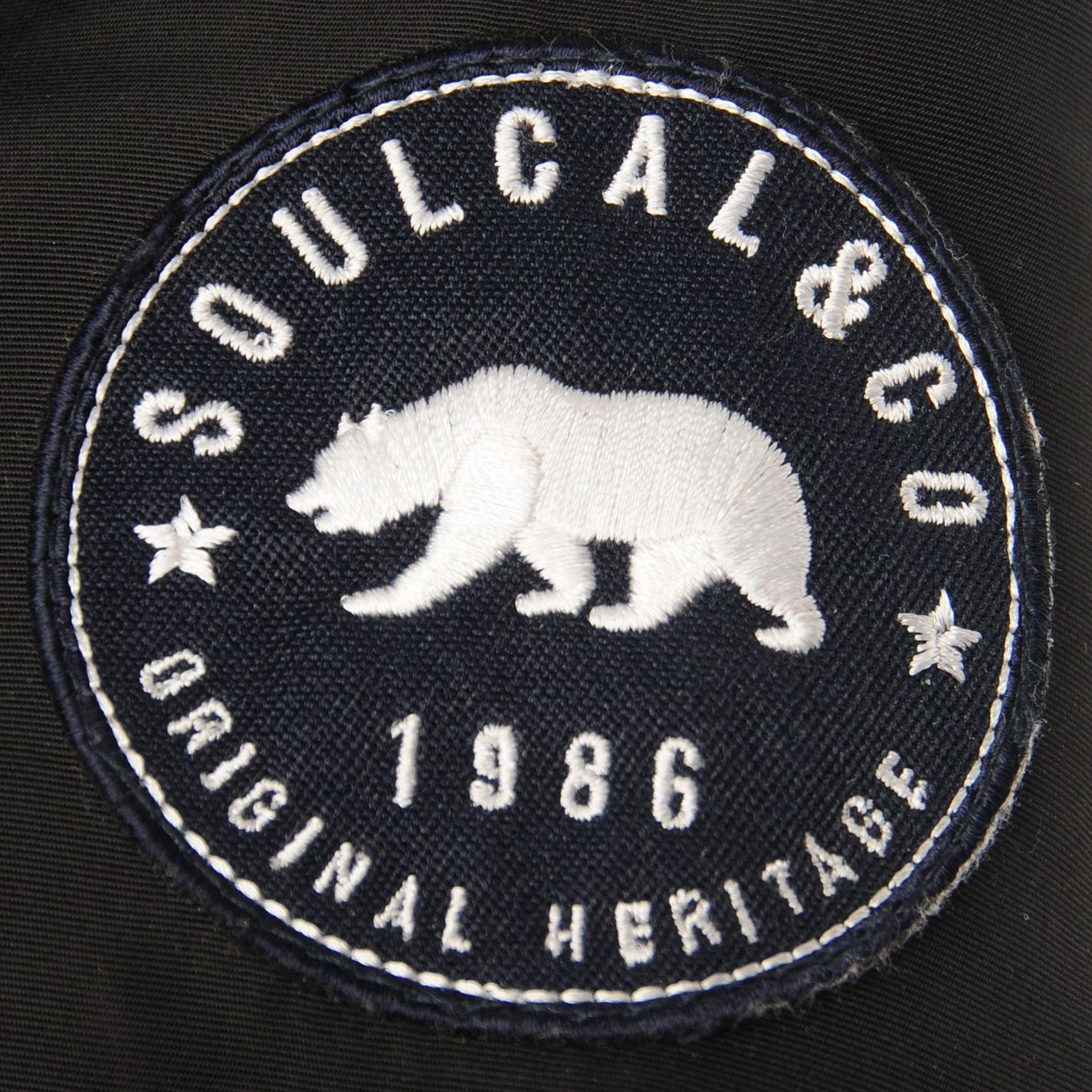 Mens-SoulCal-2-Zip-Bubble-Jacket-Padded-New thumbnail 21