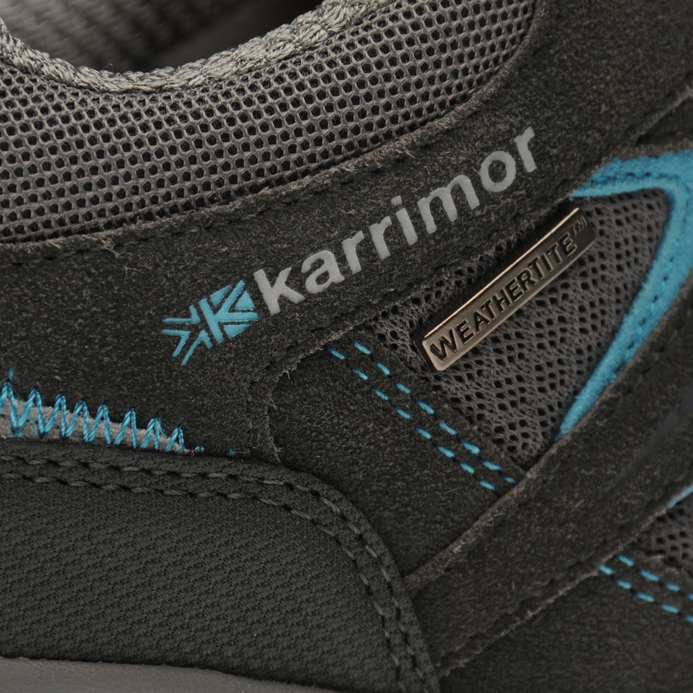 Karrimor-Womens-Mount-Low-Ladies-Walking-Shoes-Waterproof-Laced-Hiking-Trainers thumbnail 9