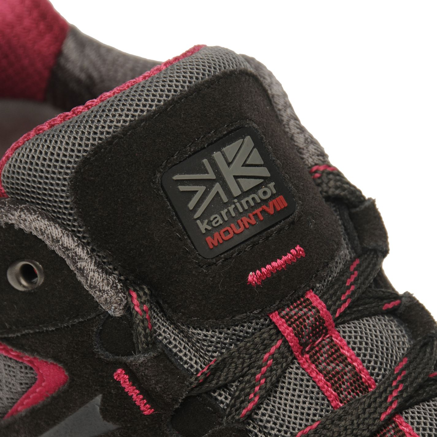 Karrimor-Womens-Mount-Low-Ladies-Walking-Shoes-Waterproof-Laced-Hiking-Trainers thumbnail 15