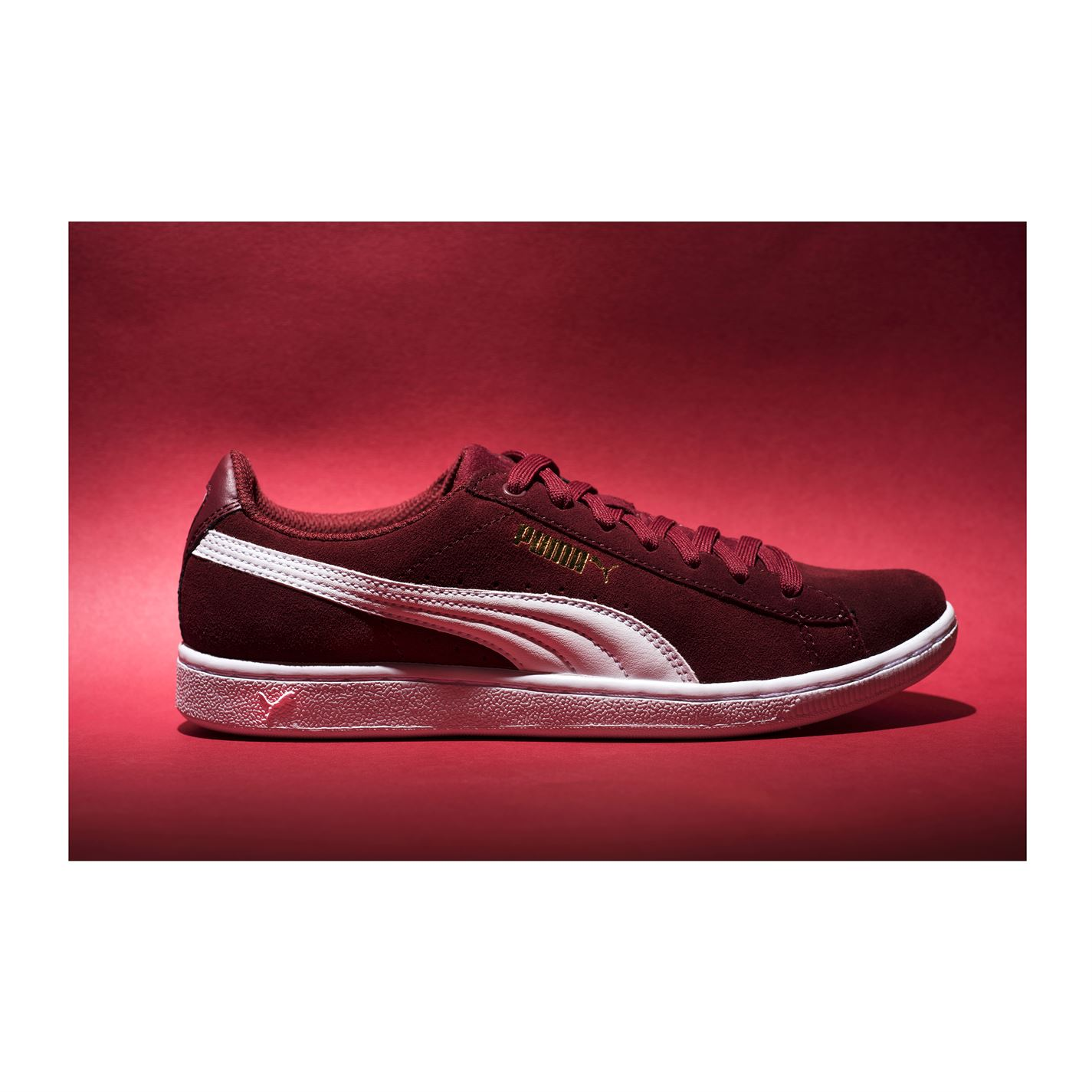 Puma Womens Ladies Vikky Sports Sports Sports shoes Lace Up Trainers Sneakers Plimsoll 53c5cc