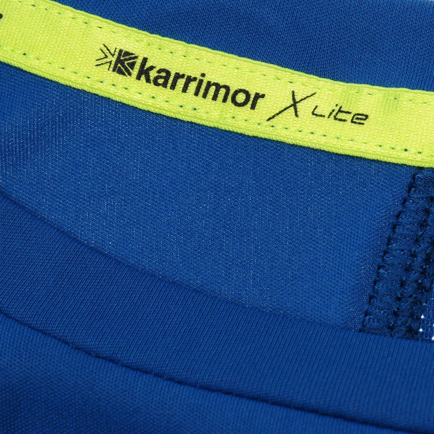 Karrimor-Hombres-X-Lite-Camiseta-mangas-cortas-de-carrera-Rendimiento-Camiseta-Top-Cuello-Redondo miniatura 23