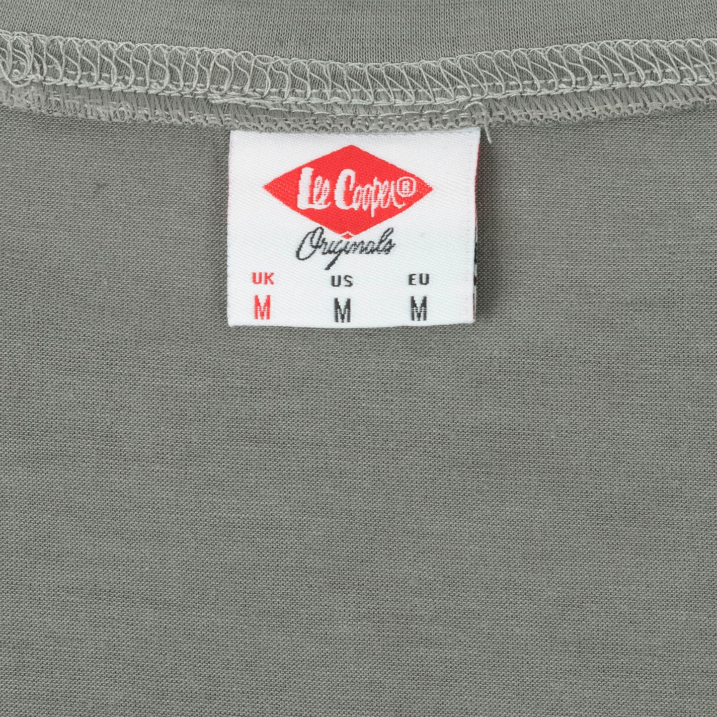Lee-Cooper-Large-Logo-Stamp-T-Shirt-Mens-Gents-Crew-Neck-Tee-Top-Short-Sleeve thumbnail 13