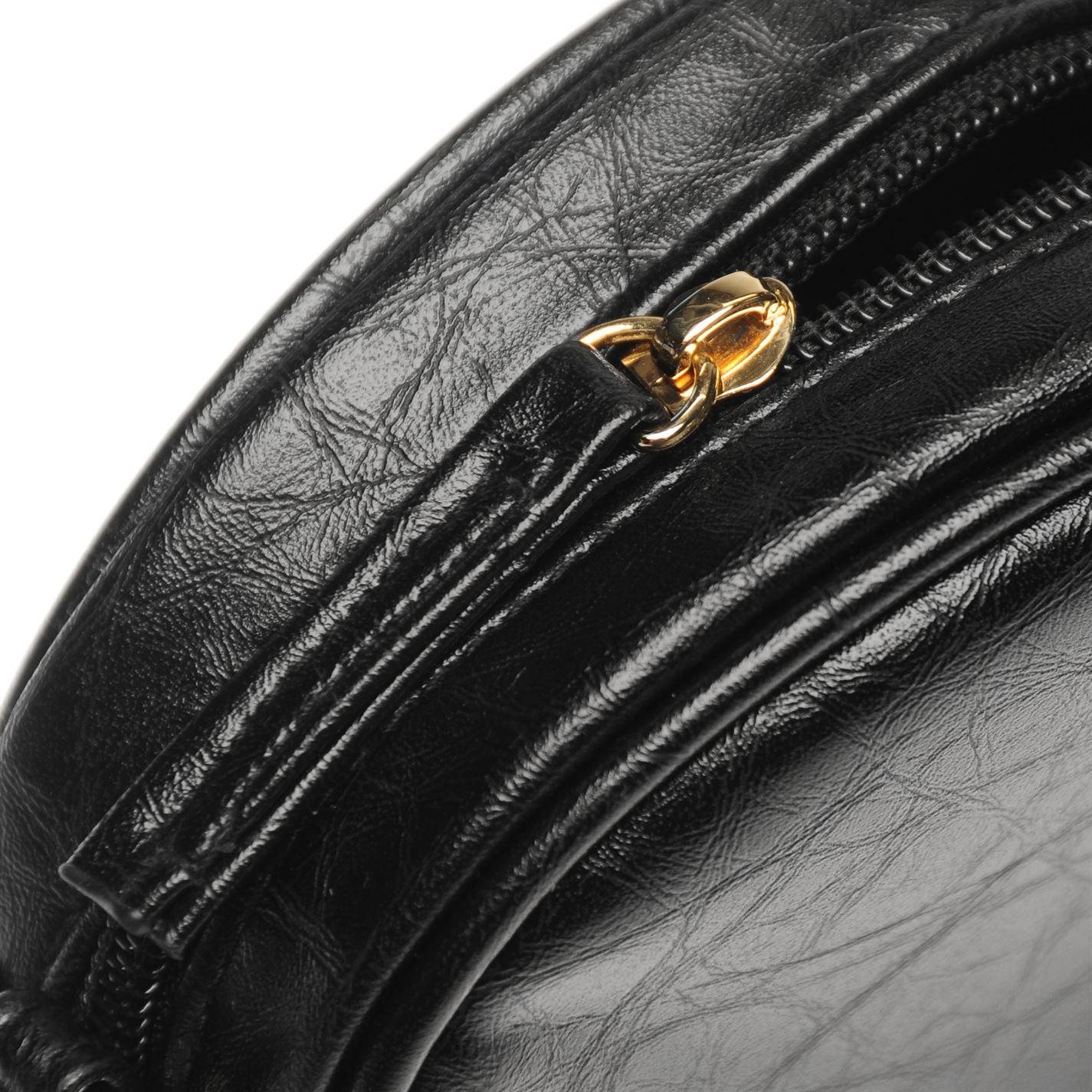 Womens-Glamorous-Lion-Shoulder-Bag-Zip-New thumbnail 8