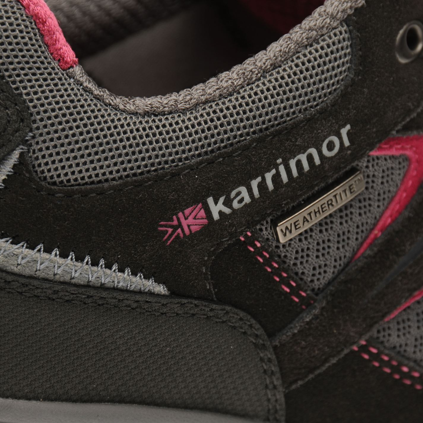 Karrimor-Womens-Mount-Low-Ladies-Walking-Shoes-Waterproof-Laced-Hiking-Trainers thumbnail 16